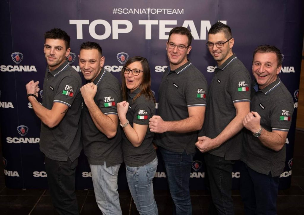 Team italiano Top Team 2018